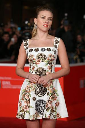 Scarlett Johansson premiere of 'Her' during the 8th Rome Film Festival November 10, 2013