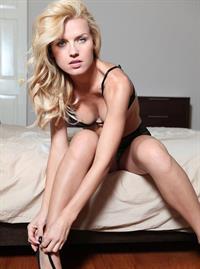 Agnes Olech in lingerie