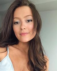 Erin Fahey taking a selfie