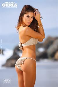 Arianny Celeste in a bikini - ass