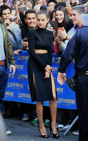 Selena Gomez –  Late Show with David Letterman  10/17/13