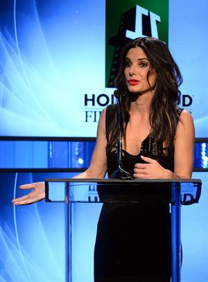 Sandra Bullock 17th annual Hollywood Film Awards - Los Angeles - October 21, 2013
