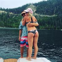 Jamie Anderson in a bikini - ass