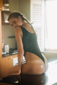 Paige Marie Evans in a bikini