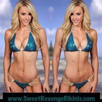 Tawna Eubanks McCoy in a bikini