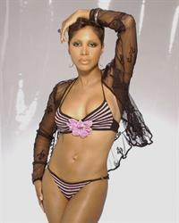 Toni Braxton in a bikini