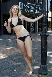 Nicole Neal in a bikini