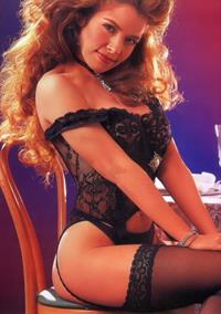 Gloria Trevi in lingerie