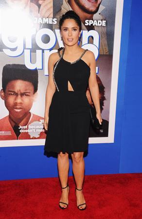 Salma Hayek 110 Premiere 'Grown Ups 2' in New York 10.07.13