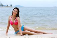 Đỗ Mỹ Linh in a bikini