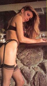 Vanna White in lingerie