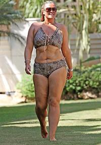 Gemma Collins in lingerie