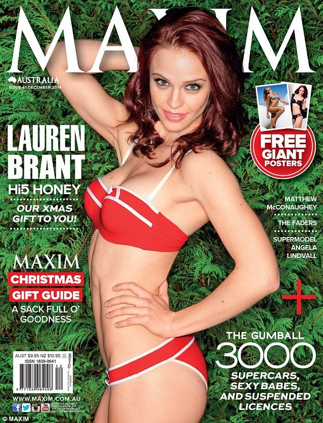 Lauren Brant in a bikini