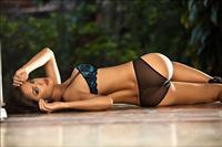 Paula Andrea Giraldo in lingerie - ass