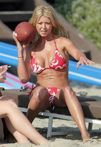 Tara Reid in a bikini