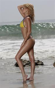 Chanel West Coast in a bikini