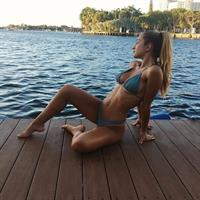 Savannah Montano in a bikini