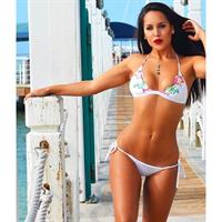 Savannah Jerson in a bikini
