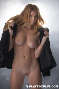 Playboy Cybergirl - Elizabeth Ostrander Nude Photos & Videos at Playboy Plus! (black see through lingerie)
