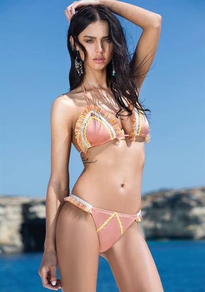 Ruslana Rodina in a bikini