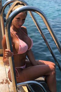 Emelie Ekström in a bikini
