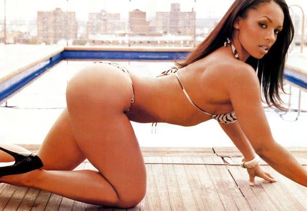 Melyssa Ford in a bikini