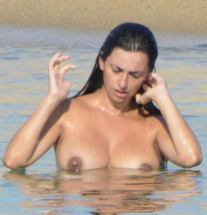 Penelope cruz topless breasts examined in ma ma
