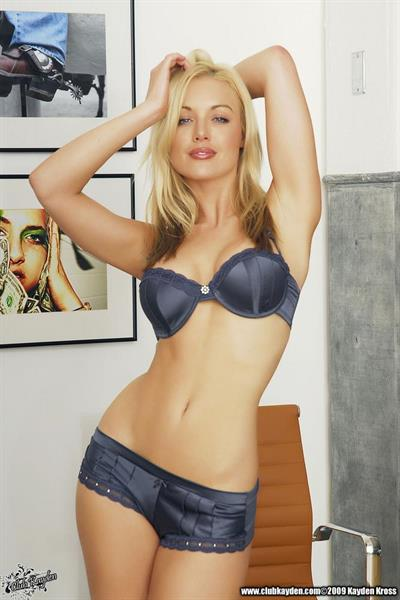 Kayden Kross in lingerie