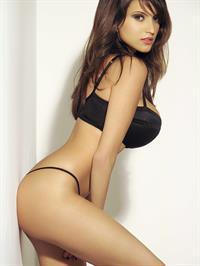Francoise Boufhal in a bikini