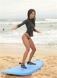 Heidy De la Rosa in a bikini