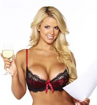 Rachel Burr in lingerie