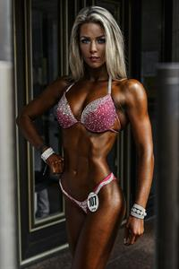 Marina Oborskaya in a bikini