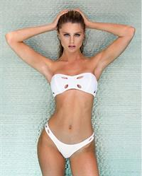 Allison Holton in a bikini
