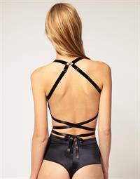 Jayne Moore in lingerie - ass