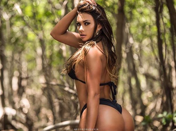 Maria Villalba in a bikini - ass
