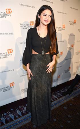 Selena Gomez Alliance for Children's Rights Dinner in Beverly Hills 3/7/13