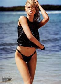 Cora Keegan in a bikini