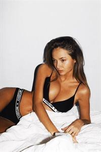 Sasha Markina in lingerie
