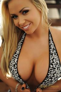 Leah Francis in a bikini - breasts