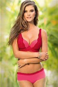 Nina Agdal in a bikini