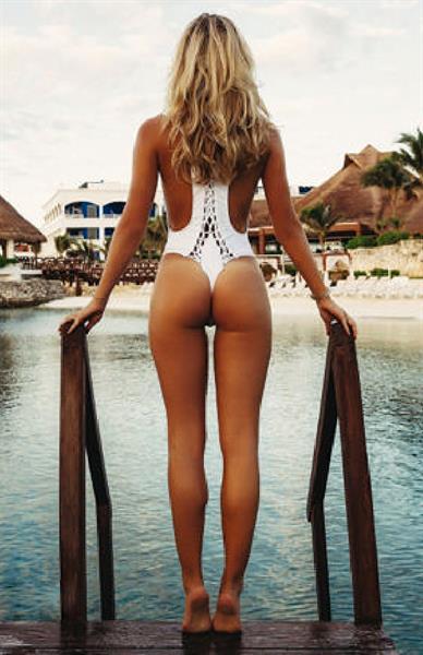 Alexis Ren in a bikini - ass