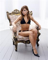 Nikki Sanderson in a bikini