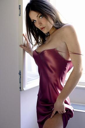 Carla Velli in lingerie