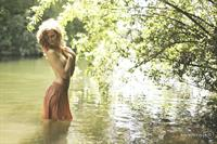 Freyja Vanden Broucke in a bikini