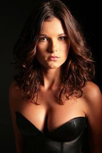 Chloe Chapman in lingerie