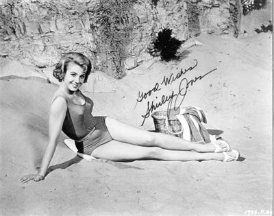 Shirley Jones in a bikini