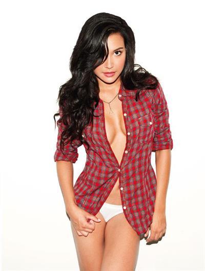Naya Rivera in lingerie