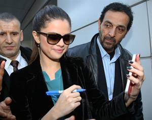 Selena Gomez at NRJ Radio in Paris 2/18/13