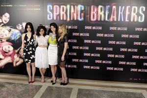 Selena Gomez Spring Breakers photocall in Madrid 2/21/13