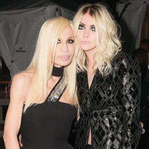 Taylor Momsen at the Versus Versace Launch party at the Leington Avenue Armory in New York City (15.05.2013)